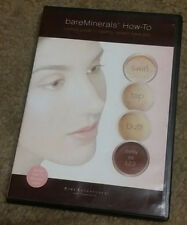 BARE MINERALS HOW-TO LESLIE'S GUIDE TO HEALTHY RADIANT BARE SKIN DVD ESCENTUALS
