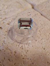 11.05 Ct TOP Quality VVS Emerald Cut Brazilian AQUAMARINE Gemstone Ready to Set!