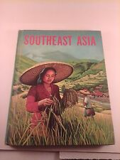 Vtg 1965 School Book about life in SOUTHEAST ASIA  Grade 6, 7  Amazing Condition