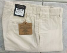 NEW Bills Khakis M2-SPBL POPLIN plain Front STANDARD FIT STONE SZ 33X32 $165