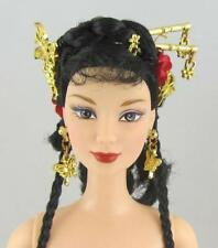 Nude Barbie .. DOTW Festivals of the World Chinese New Year Flowers Butterflies