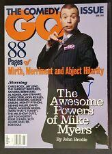 Mike Myers Signed GQ Magazine - COA Signatures.com