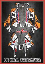 Honda TRX 250R Fourtraxx TRX  SEMI CUSTOM GRAPHICS KIT Detox3