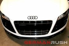 2010-12 AUDI R8 CARBON FIBER FRONT GERMAN RUSH SPLITTER V10 OR V8
