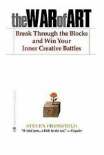 NEW The War of Art By Steven Pressfield Paperback Free Shipping