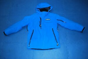 Karbon insulated Ski Snowboard Snow Jacket Men's Large Bright Blue DWR renewed
