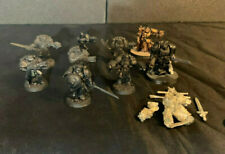 Warhammer 40K Space Marine Metal Lot ~ Grey Knights, Terminator Chaplain Captain