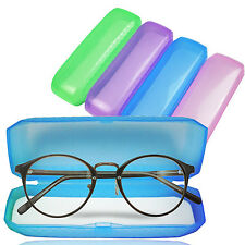 High 1PC New Portable Plastic Eyeglasses Sunglasses Storage Hard Case Glasse Box