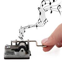 Kikkerland Music Box Original Hand Crank Musical Song Player Plays Rockin' Robin