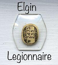 Vintage Rare NOS Elgin Legionnaire 402 Watch Glass Crystal Antique Part