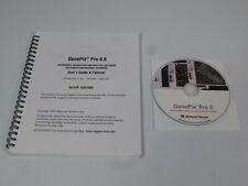 Axon / GenePix Pro 6.0 Microarray Scanner Imaging Analysis Software & User Guide
