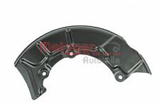 Spritzblech, Bremsscheibe für Bremsanlage Vorderachse METZGER 6115020