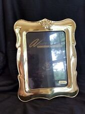 Vintage Solid Brass Loui Michel Cie frame lacquer coated vertical 5x7 photo