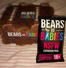 Bears Vs Babies With NSFW Deck Kickstarter