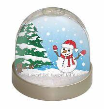 Snow Man Photo Snow Globe Waterball Stocking Filler Gift, Snow-1GL