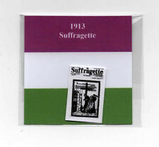 Dollshouse Miniature Newspaper - Suffragette