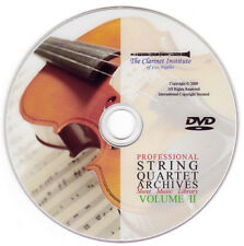 String Quartet Sheet Music Volume 2 DVD PDF