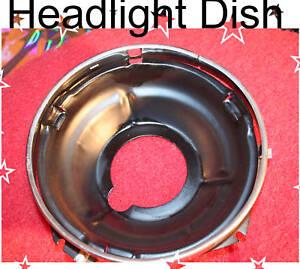 Corvette  1956 1957 Headlight Bulb Retainer + Dish NOS