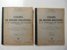 COURS DE DESSIN INDUSTRIEL / M. NORBERT / DEUXIÈME ET TROISIÈME PARTIE / 1958