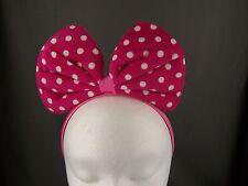 Pink Big Huge bow mouse ears headband hair band accessory kawaii cosplay anime
