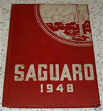 1948 Saguaro Yearbook Florence AZ Ira A. Murphy Walters