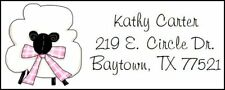 ~Cute Easter Sheep~ Lazer Address Labels! Cute!