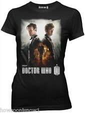 WHOLESALE LOT OF 4 Doctor Who LICENSED T-Shirts  DAY OF DOCTOR - Ladies Junior L