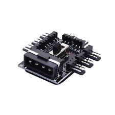 1X PC FAN HUB Support 8 Channel 3-gear PCI Cooling Turn OFF Fan Speed Controller