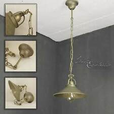Industrial Hanging Lamp Hanging Light Antique Brass Bronzed Chain Dining Room