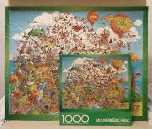 Vintage 1979 Springbok Puzzle   MOUNTAINSIDE PARK   1000 Pc Bob Martin COMPLETE
