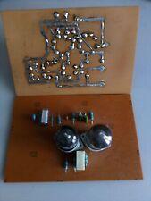 Preamplificatore phono Riaa dual mono, MM con due 12ax7