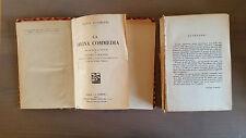 """Libro Antico """"La Divina Commedia con la vita di Dante di Niccolò Tommaseo"""""""