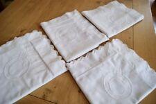 Cotton Embroidery Bed Linens Antique Linens