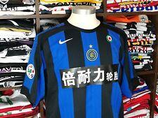 INTER MILAN home 2005/06 shirt - VERON #14-Argentina-Man Utd-Lazio-Parma-Jersey