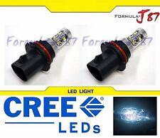CREE LED 50W 9004 HB1 WHITE 6000K TWO BULB HEAD LIGHT PLUG PLAY REPLACEMENT JDM