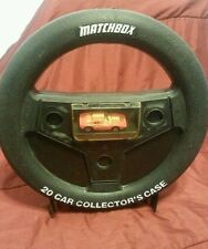 "13"" 1983 MATCHBOX 20 CAR COLLECTOR'S CASE STEERING WHEEL"