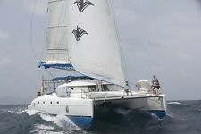 Caribbean crewed charter 12n sail yacht catamaran  vacation holiday scuba diving