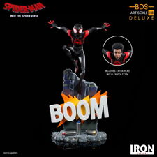 Iron Studios 1/10 Miles Morales Deluxe Statue Spider-Man Into the Spider-Verse