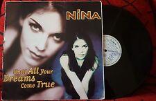 "Dance House NINA **Until All Your Dreams Come True** RARE 1995 Spain 12"" Single"