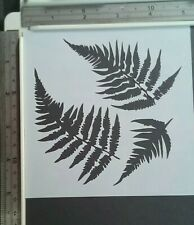 Fern Leaves Stencil Scrapbooking Card Making Airbrush Painting Home Decor Art