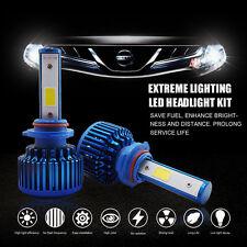 9006 HB4 LED HID Xenon Headlight Conversion Kit COB WHITE 6000lm Super Bright.