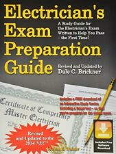 Electrician`s Exam Preparation Guide to the 2014 NEC by John E. Traister, (Paper