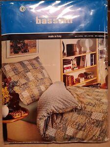 Bassetti Baltimora V.1  Bettwäsche ca 200 x 200 NEU Bezug & Kissen