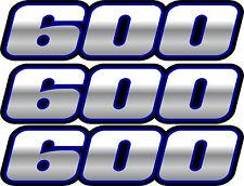 Quad ATV Blue 600 Decals Stickers 4x4 Grizzly Graphics Sticker 4x2