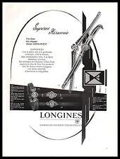 Publicité Montre LONGINES Watch photo vintage ad  1957 -9i