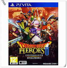PSV Dragon Quest Heroes 2 II JAP / ENG SONY VITA Games Enix Action Adventure
