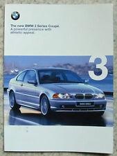 BMW 3 SERIES COUPE Car Sales Brochure 1999 #911031821 1 1999MM  323Ci & 328Ci