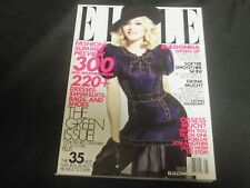 2008 MAY ELLE MAGAZINE - MADONNA FRONT FASHION COVER - O 6881