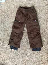"Obermeyer EWS youth 8 Boys/Girls snow ski snowboard pants extends length 2"""