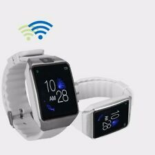 NEW White G12 Bluetooth Touchscreen Smart Watch With Camera For Android & iPhone
